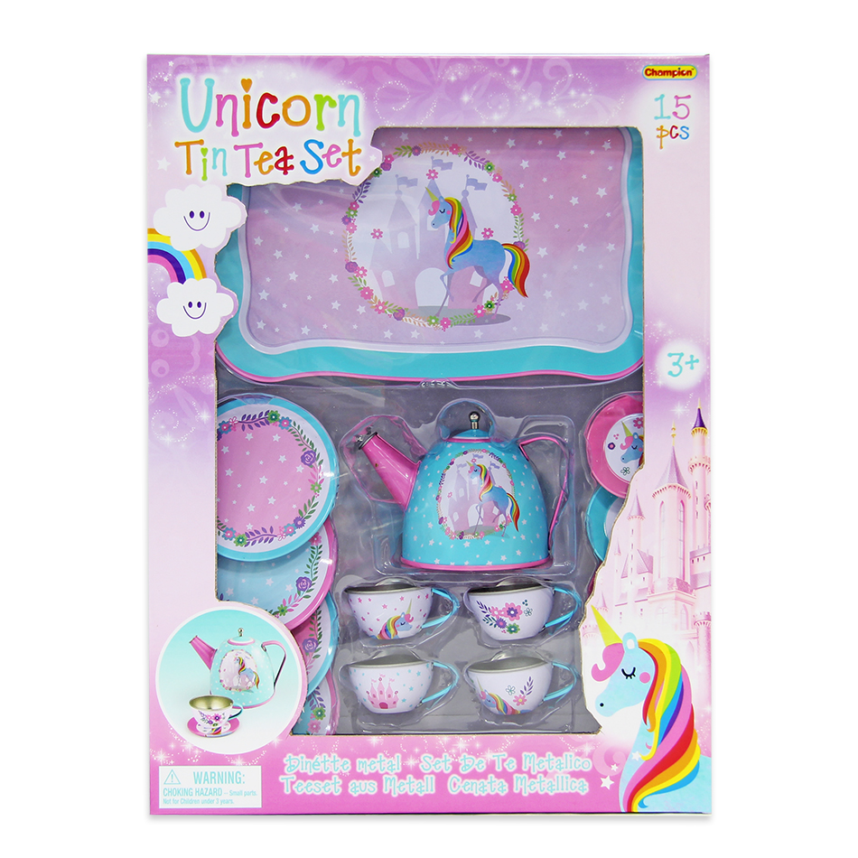 SET TE METAL UNICORNIO 15PCS. 702-CH41200