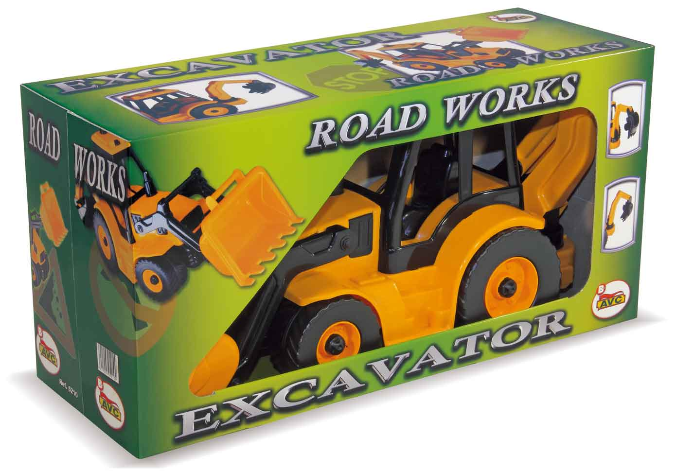 EXCAVADORA RETRO ROAD WORK 5210 - V10920