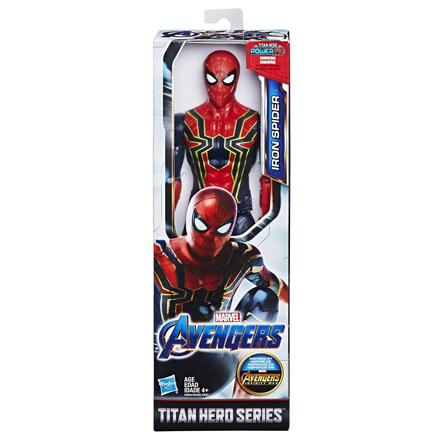 AVN TITAN HERO MOVIE IRON SPIDERMAN 3844 - N79219