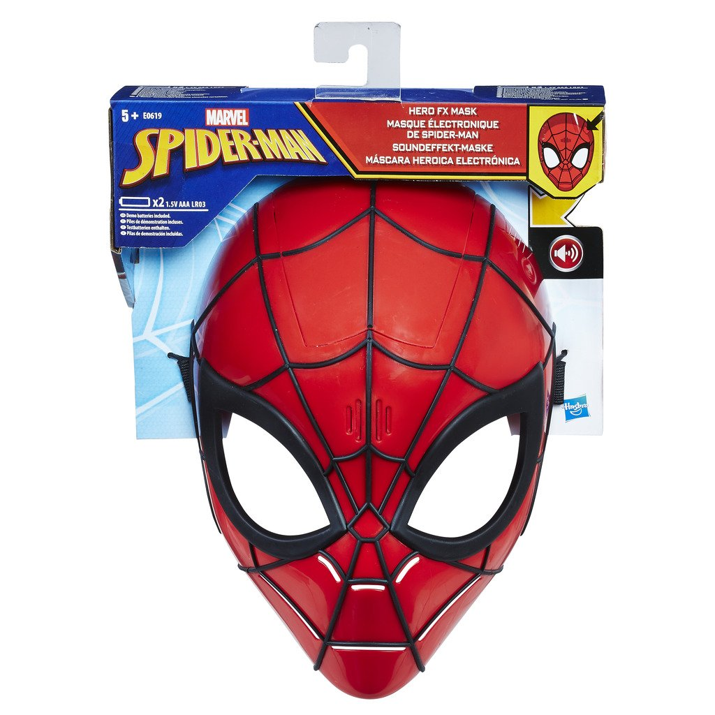 SPIDERMAN MASCARA HEROICA ELECTRONICA E0619