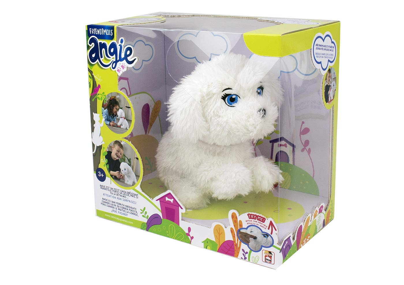 PELUCHE FRIENDIMALS ANGIE 41257
