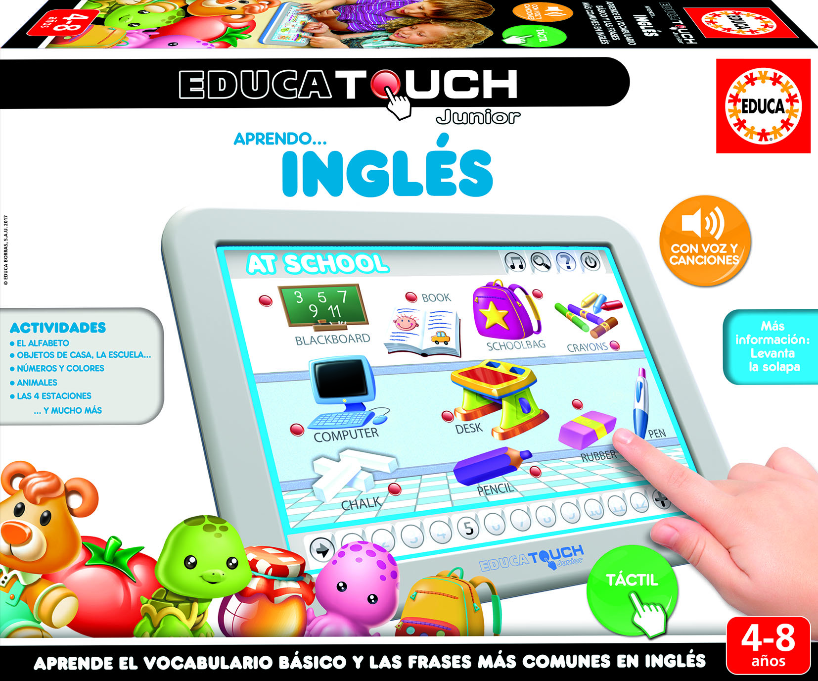 EDUCA TOUCH JUNIOR INGLES 15438 - N58819