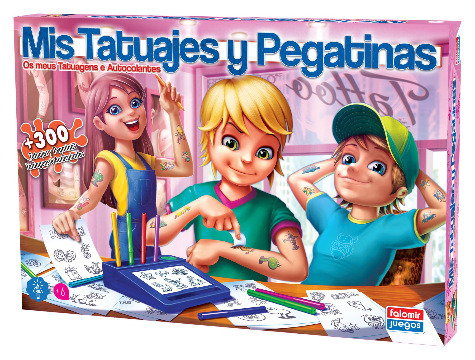 MIS TATUAJES Y PEGATINAS 2484 - N34020