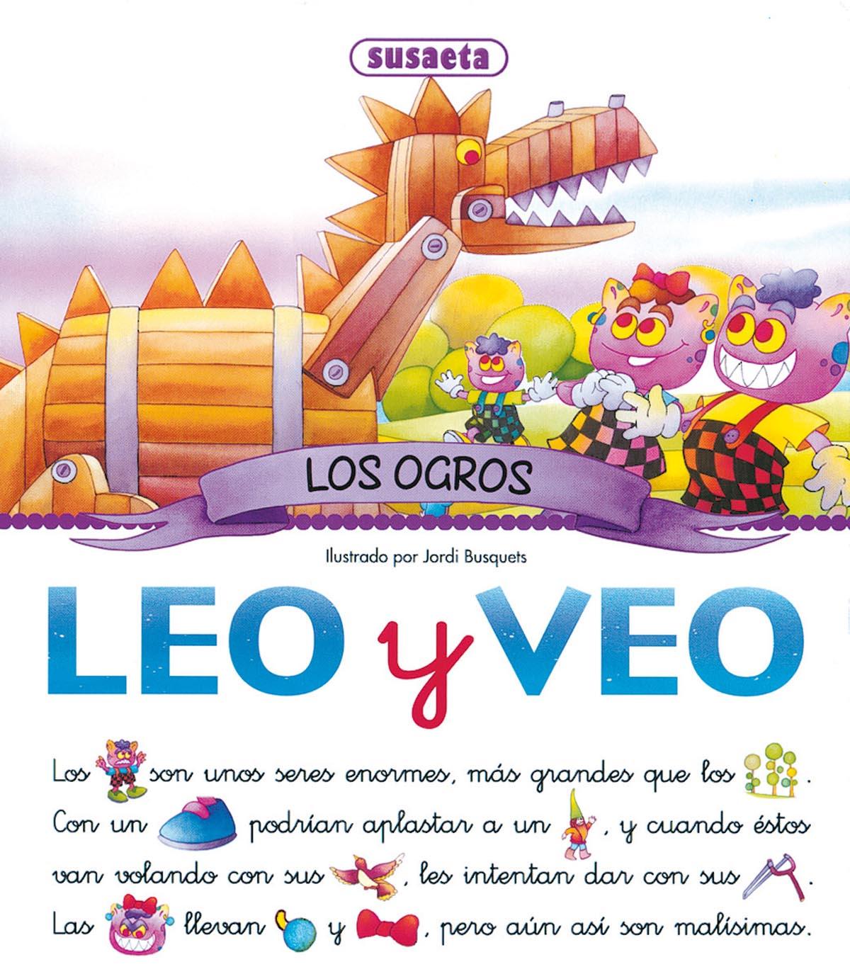 LEO Y VEO LOS OGROS 159005