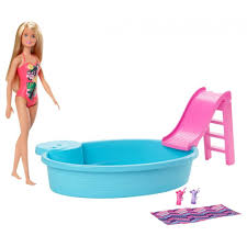 BARBIE CON PISCINA GHL91 V20020