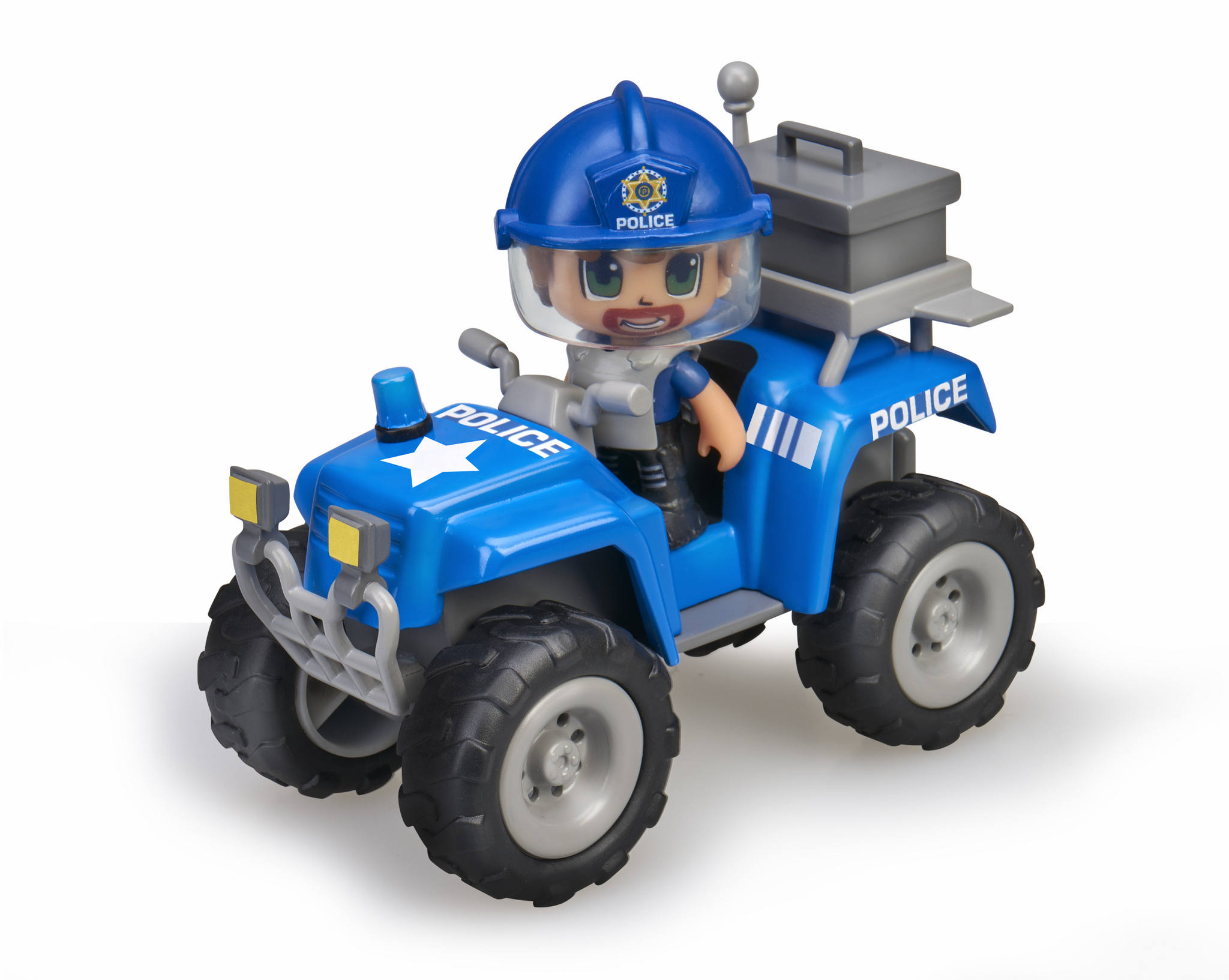 PINYPON ACTION QUAD CON POLICIA 15582 V26420