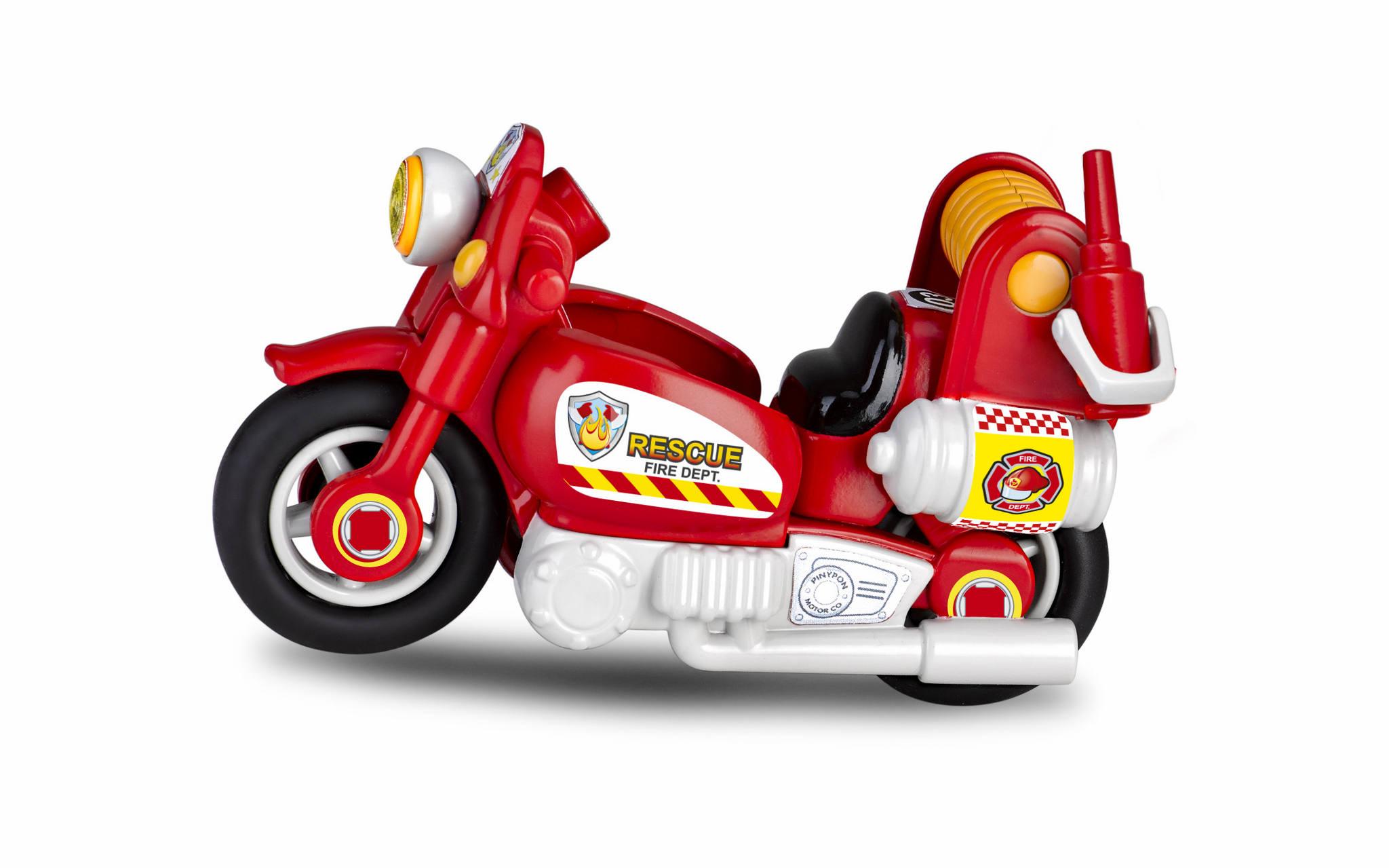 PINYPON ACTION FIREMAN MOTORBIKE 15636