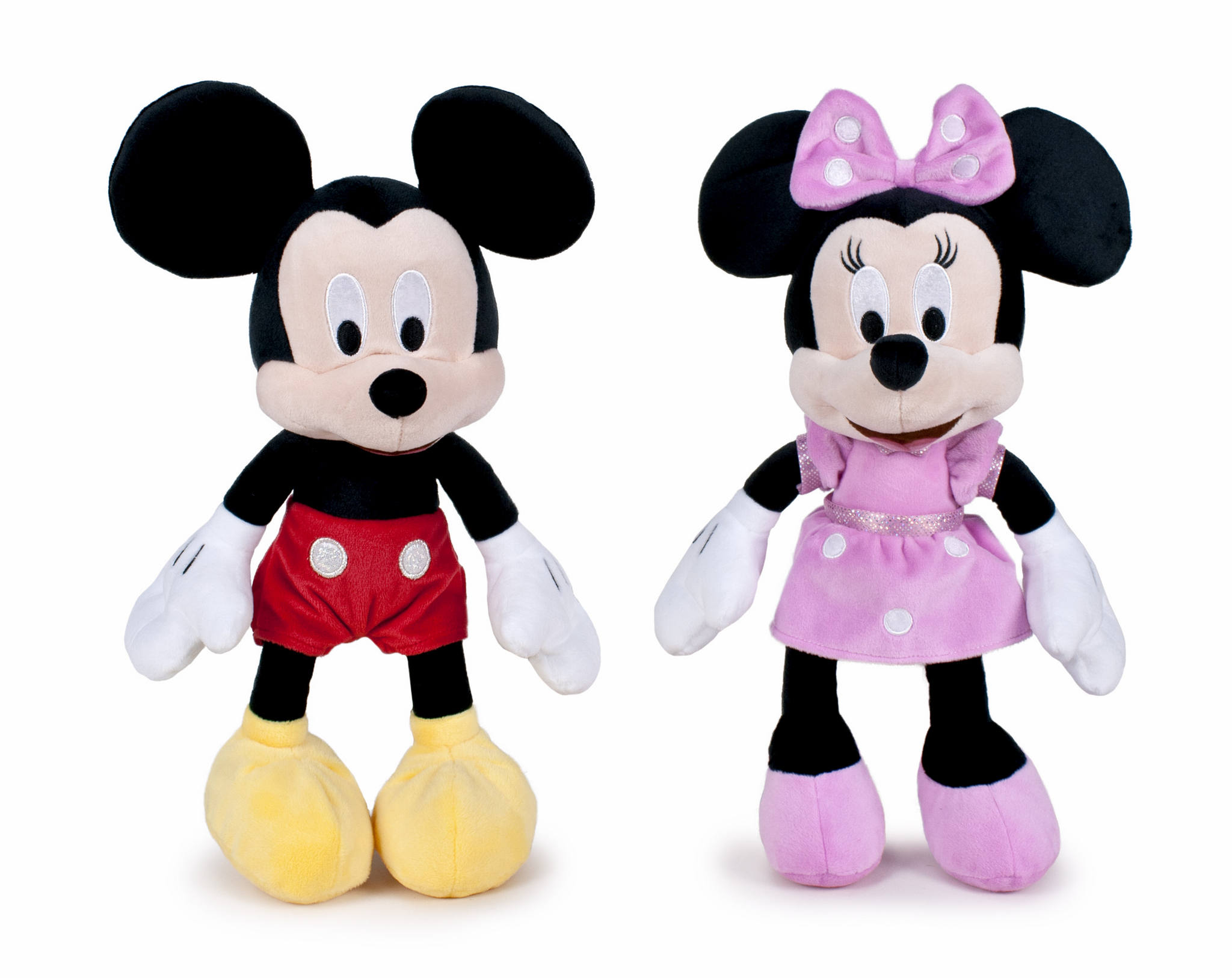 MICKEY & MINNIE  25 CM HANG TAG 14875