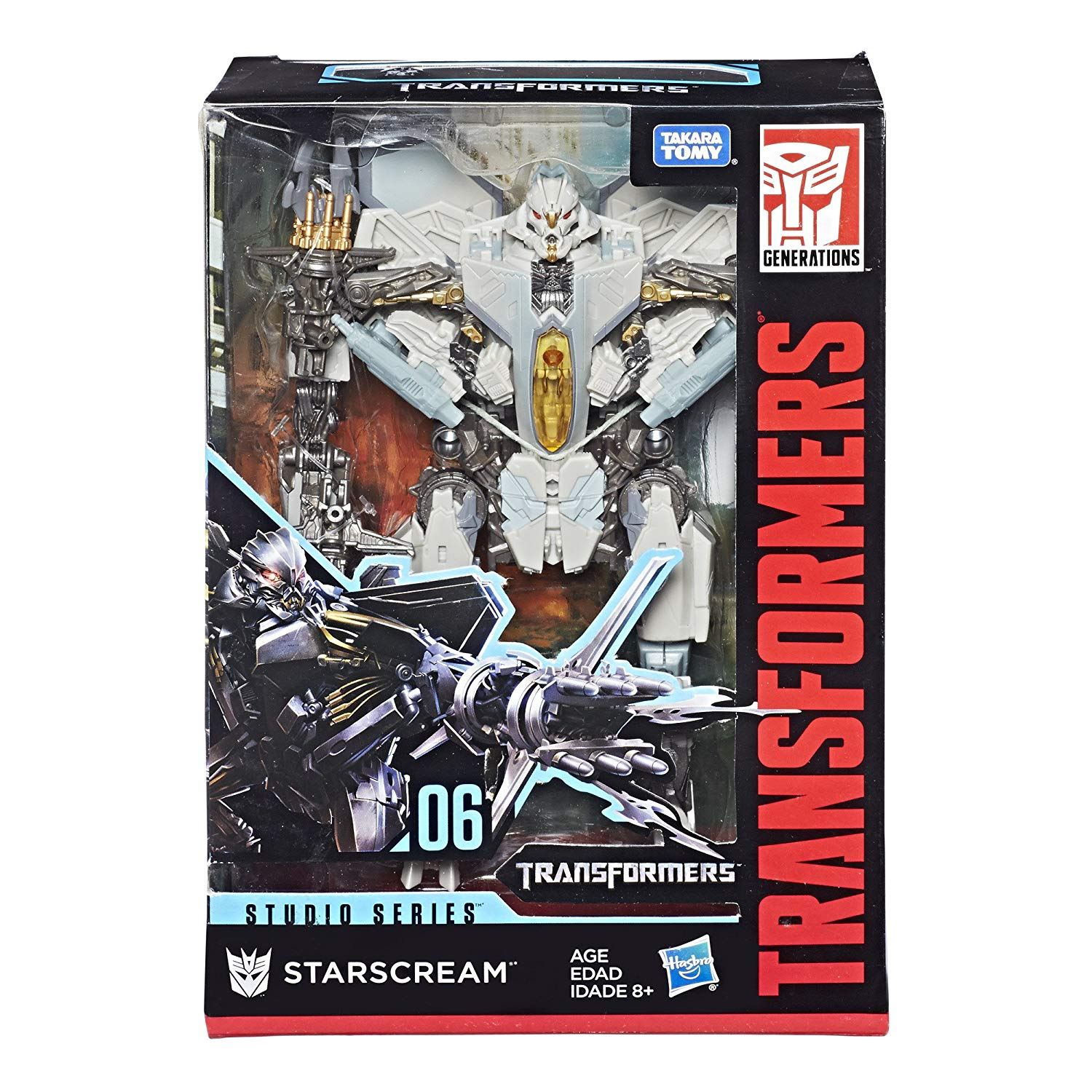 TRANSFORMERS GENERATION STUDIO SERIE VOYAGER E0702