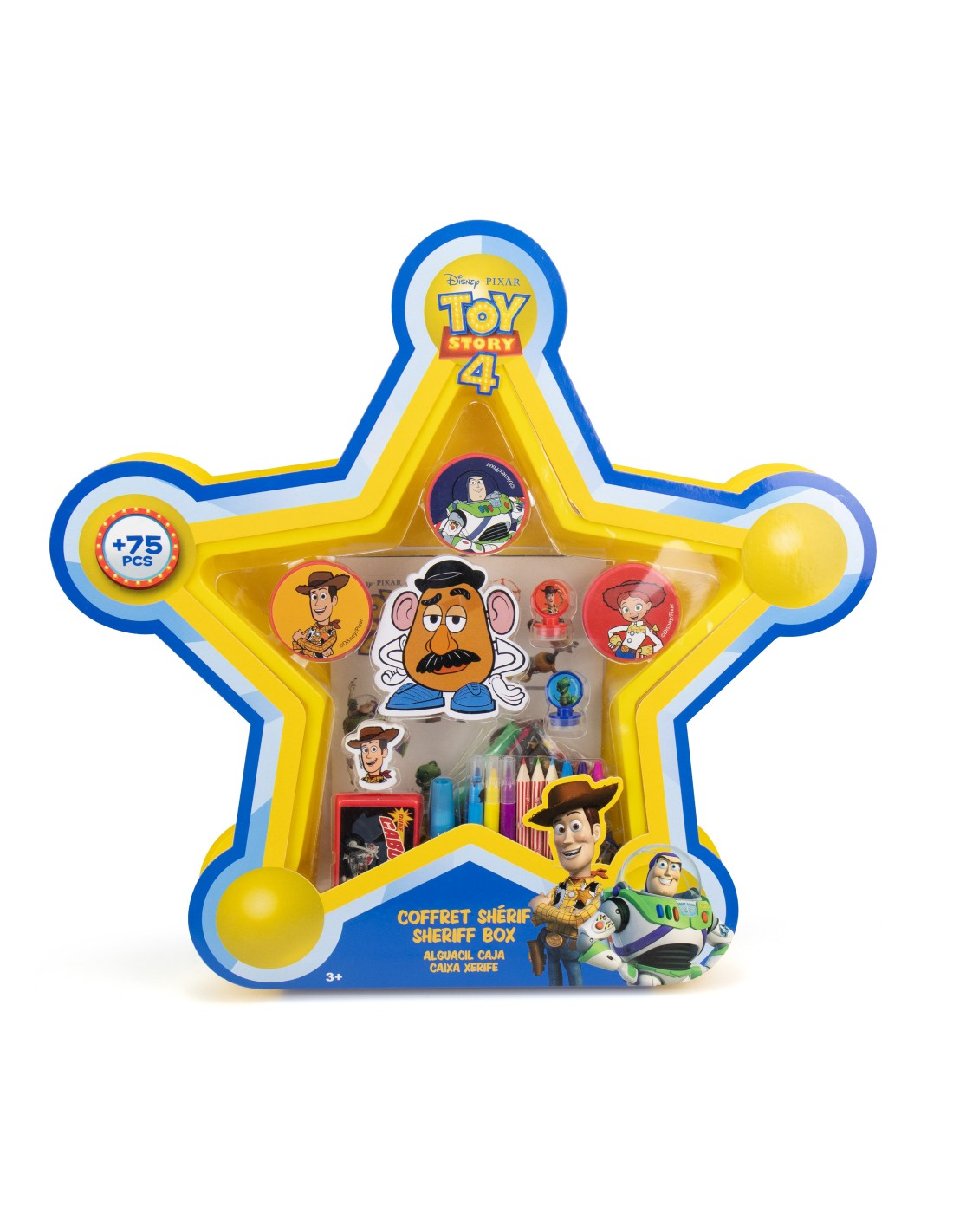 SET CREATIVO 75 PIEZAS TOY STORY CTOY002