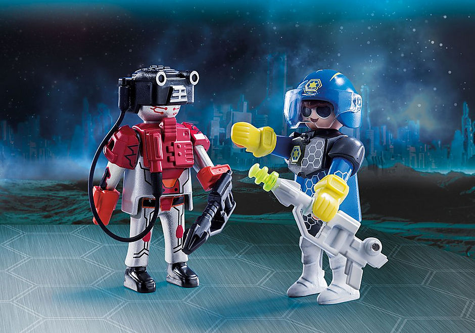 SPACE POLICE OFFICER AND THIEF 70080