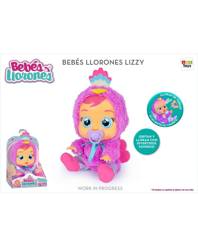BEBES LLORONES LIZZY 91665