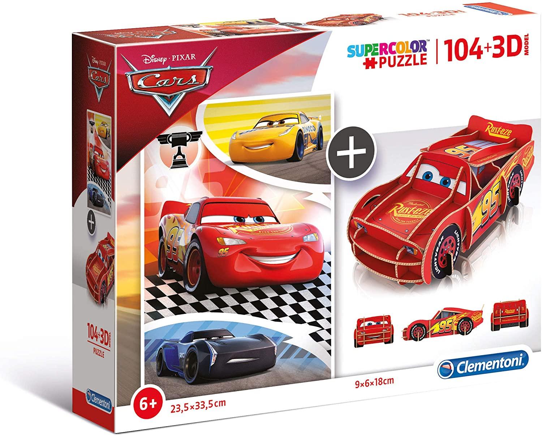 PUZZLE 104 3D MODEL CARS 20160
