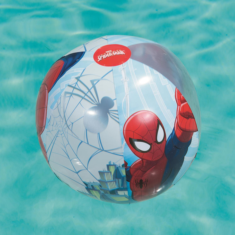 PELOTA PLAYA SPIDERMAN 51CM 586-98002 - V8220
