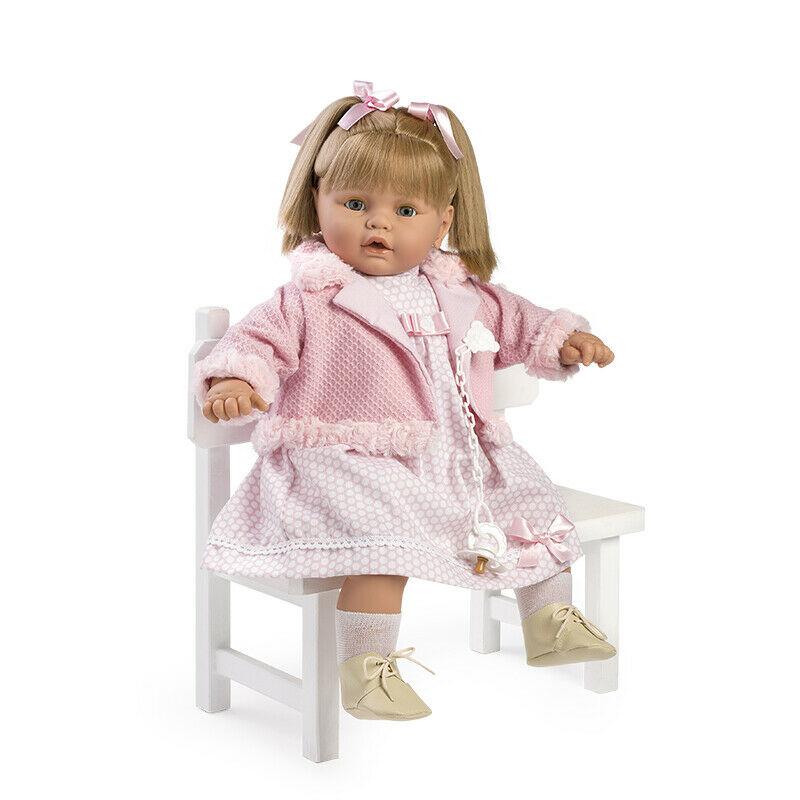 BABY DULZONA LLORONA VESTIDO Y CHAQUETA ROSA 8049 - N18120