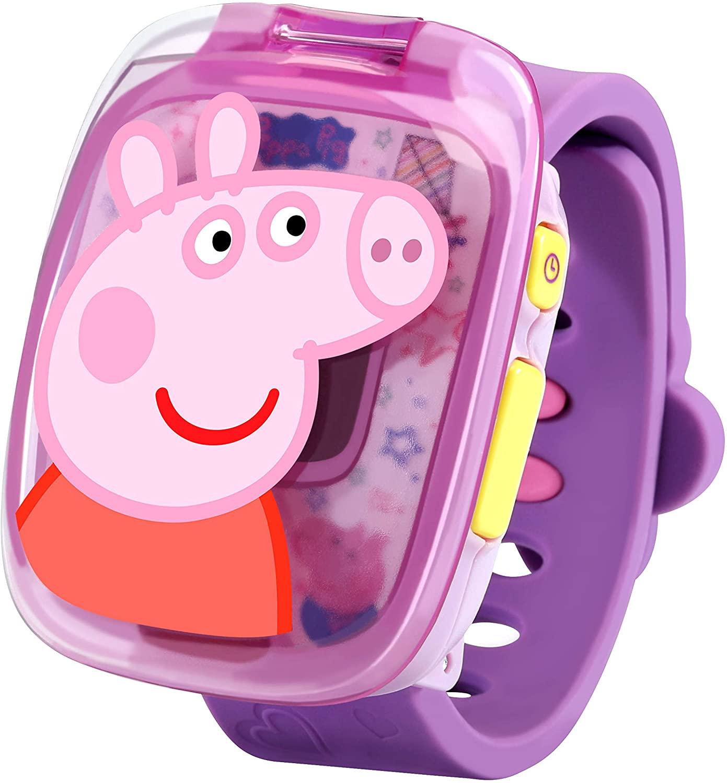 RELOJ PEPPA PIG MORADO 80-526022