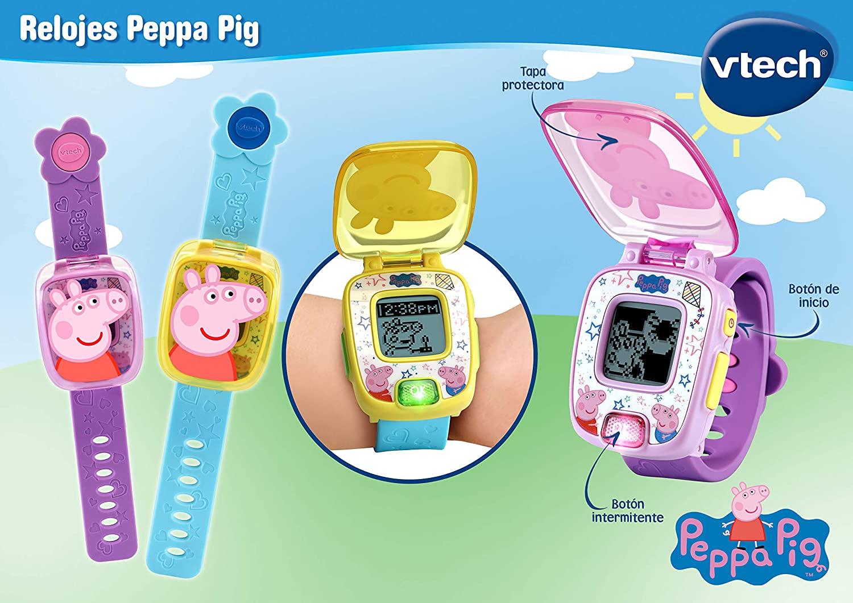 RELOJ PEPPA PIG AZUL 80-526067