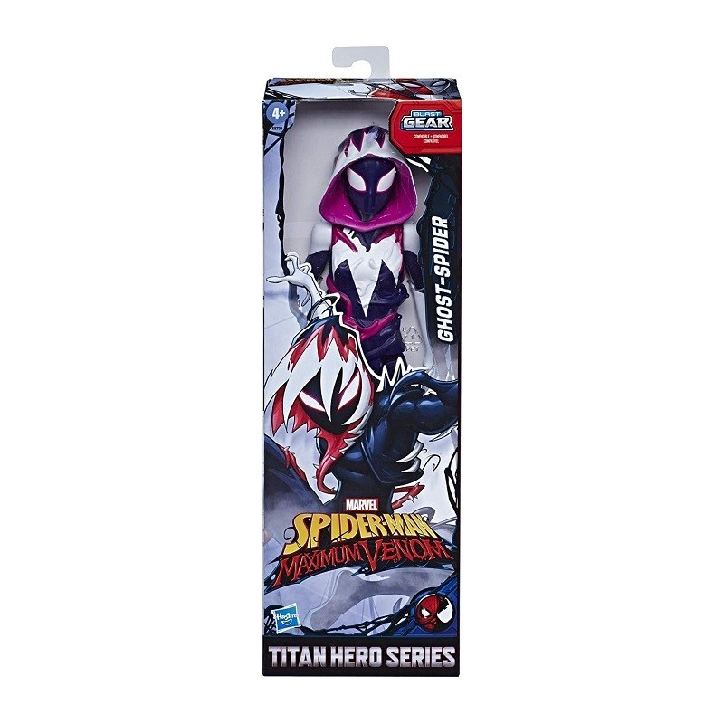 SPEDERMAN MAX VENOM TITAN GHOST SPIDER E87305