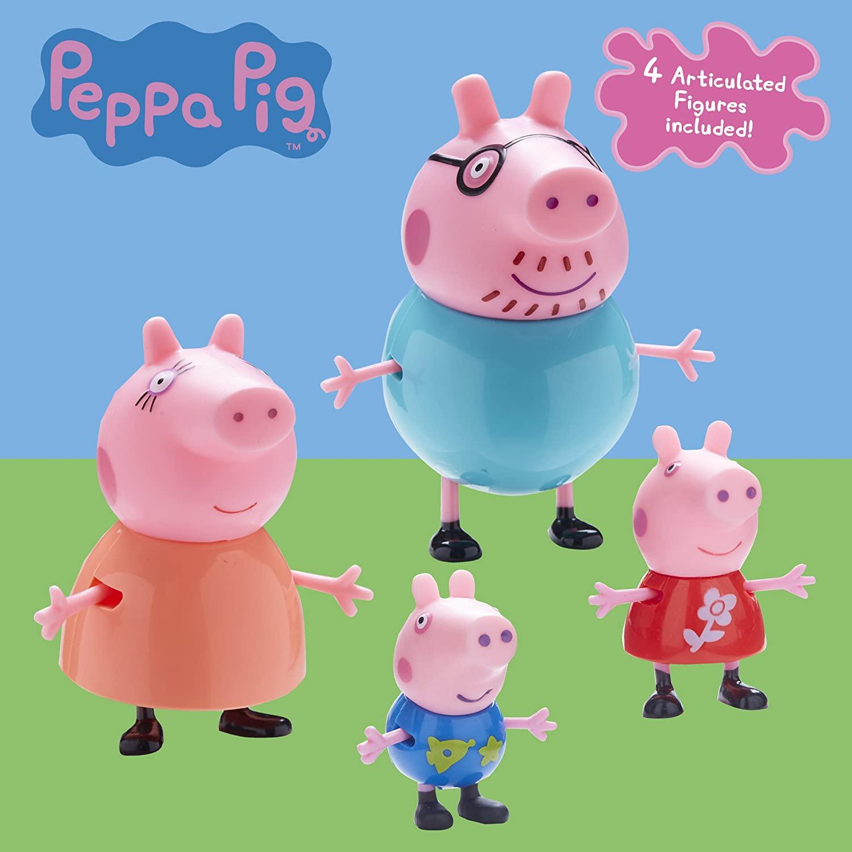 PACK 4 FIGURAS FAMILIA PIG 6666 - N16820
