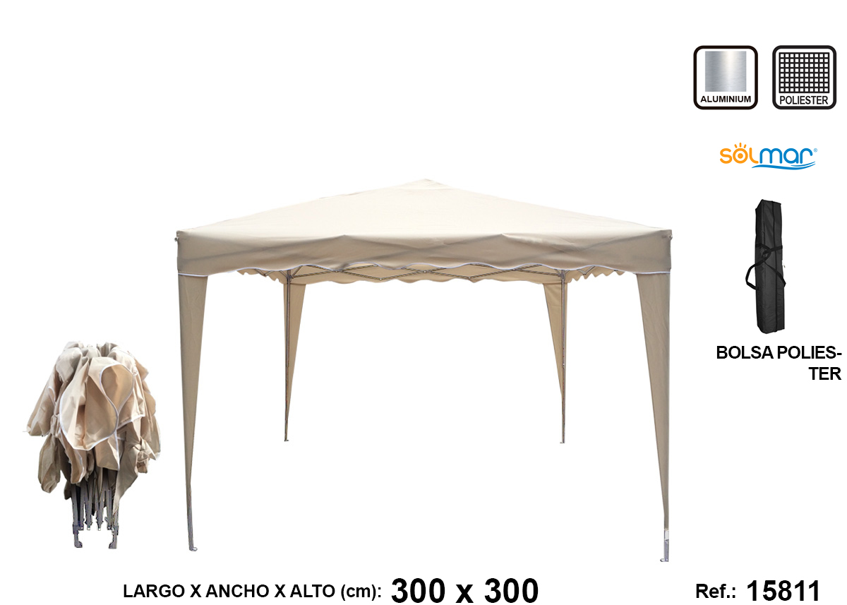 CENADOR PLEGABLE ALUMINIO SURTIDO15811-15812-15814
