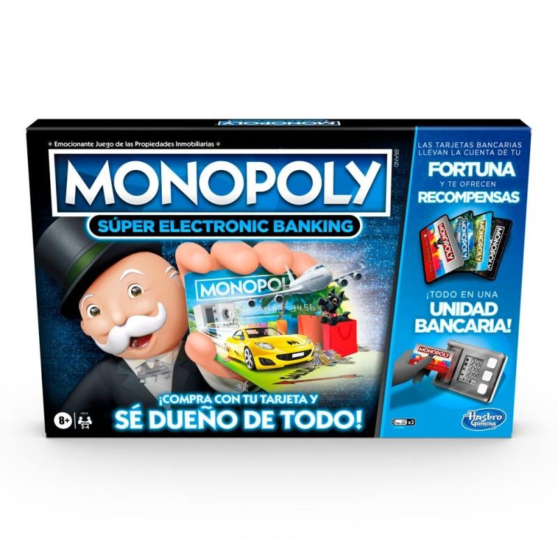 MONOPOLY SUPER ELECTRONIC BANKING E8978