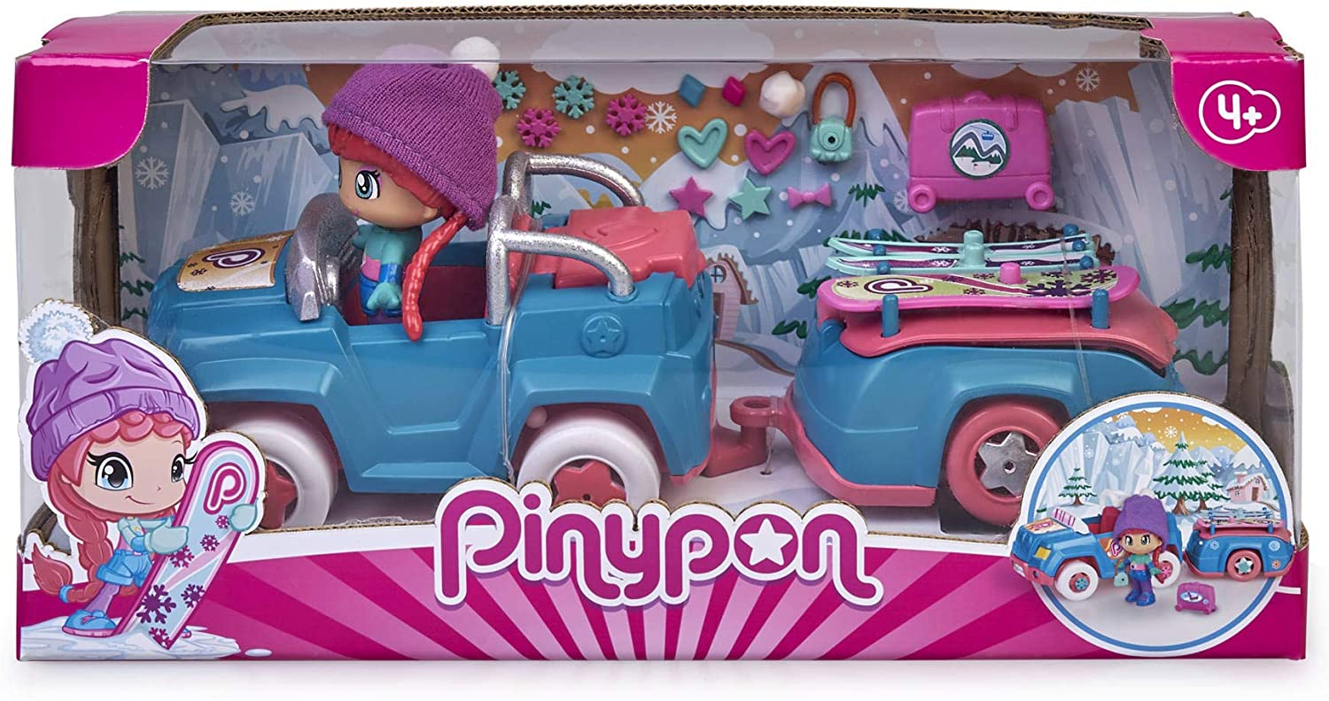 PINYPON SKI CAR CON TRAIL 15772