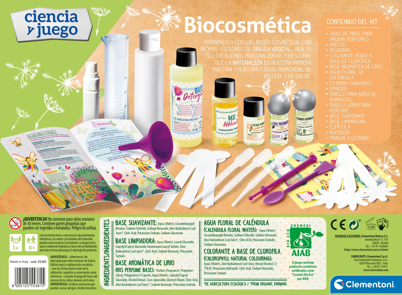 BIOCOSMETICA 55381 - N22820