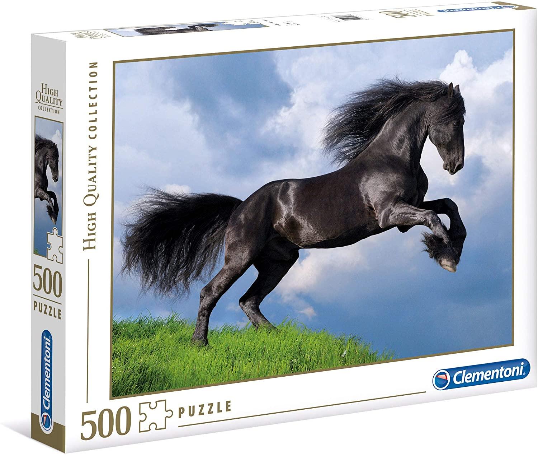 PUZZLE 500 CABALLO NEGRO 35071