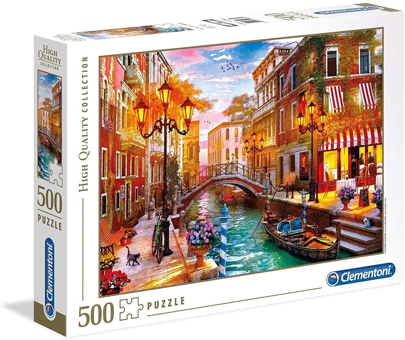 PUZZLE 500 ATARDECER EN VENECIA 35063