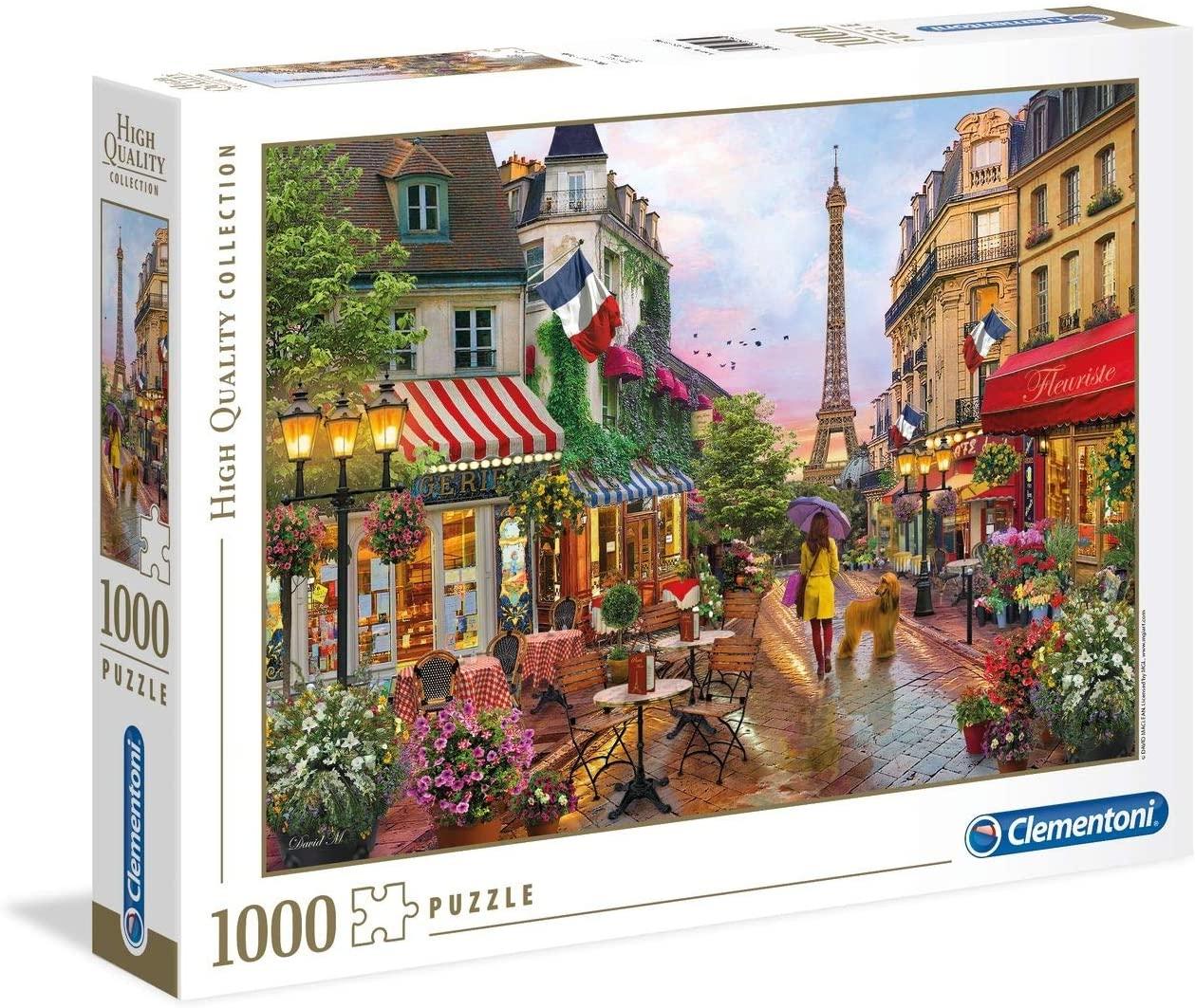 PUZZLE 1000 FLORES EN PARIS 39482