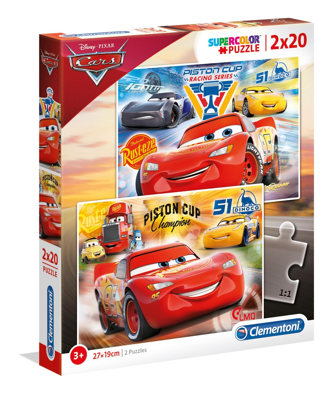 PUZZLE 2X20 CARS 3 07027