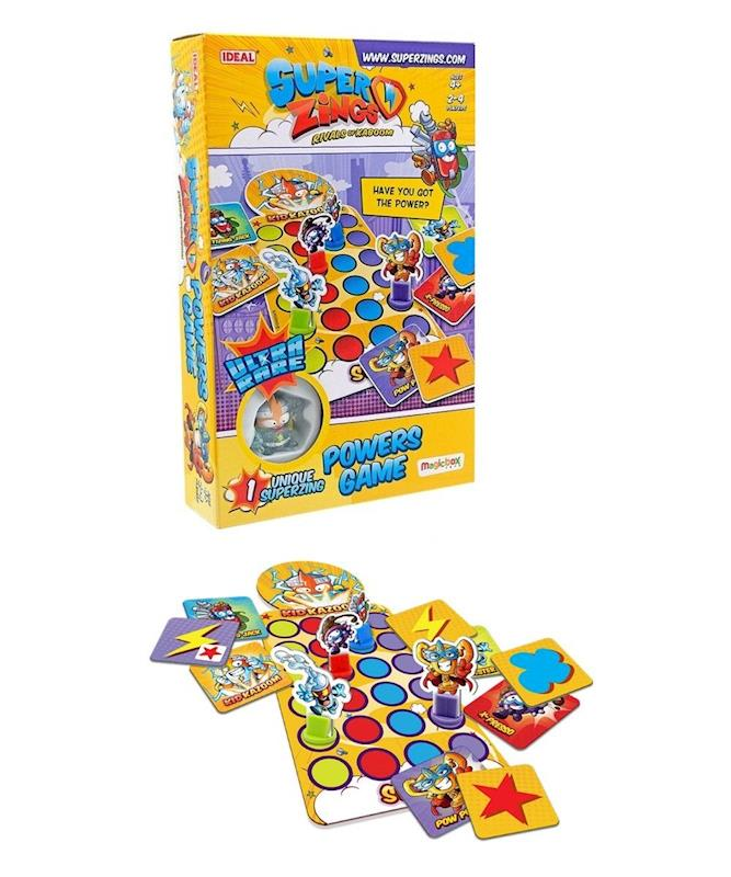 JUEGO DE MESA SUPERZINGS POWERS KID KAZOOM 21652