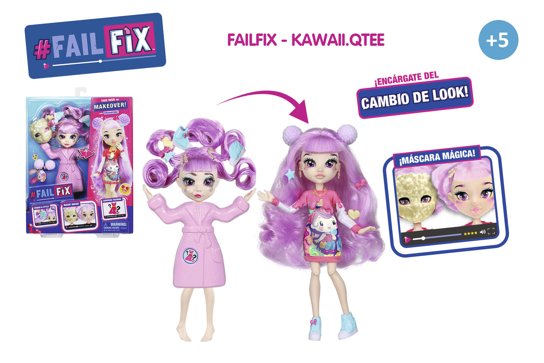 FAILFIX KAWAII CAMBIO DE LOOK 16073 - N36920