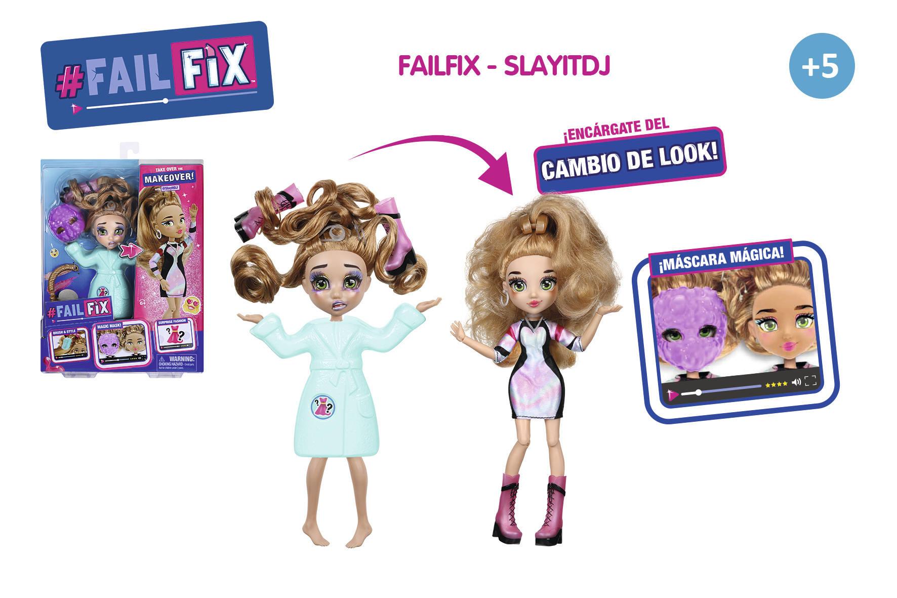 FAILFIX SLAYITDJ CAMBIA EL LOOK 16074 - N37020
