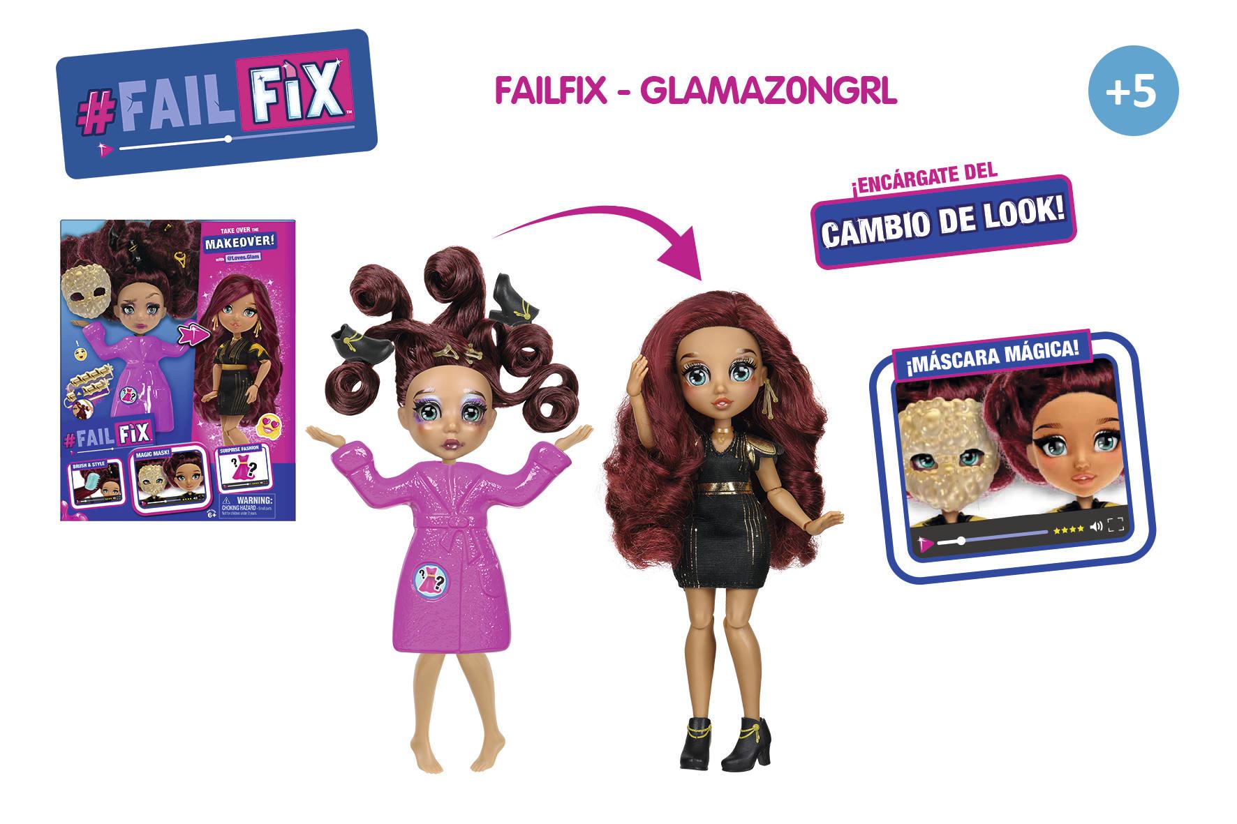 FAILFIX GLAMAZONGRL CAMBIA DE LOOK 16075
