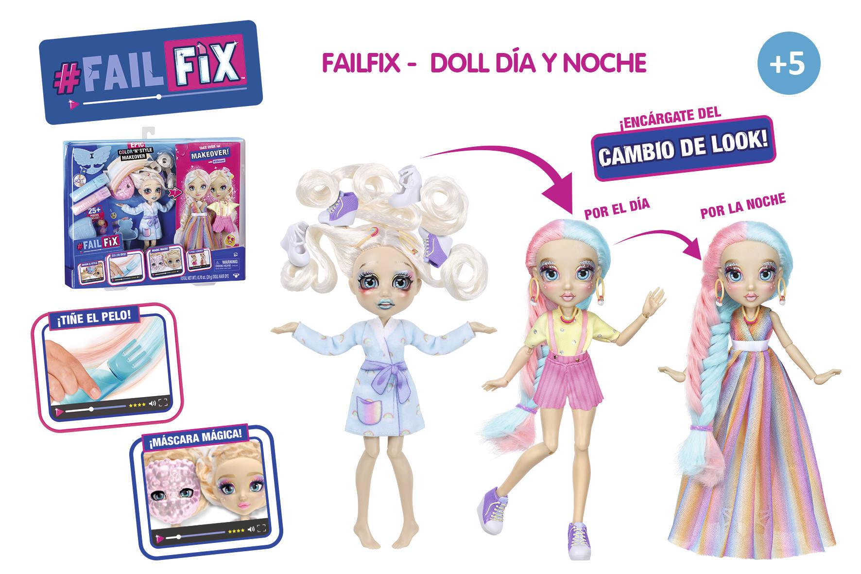FAILFIX DOLL DIA Y NOCHE 16077 - N37320