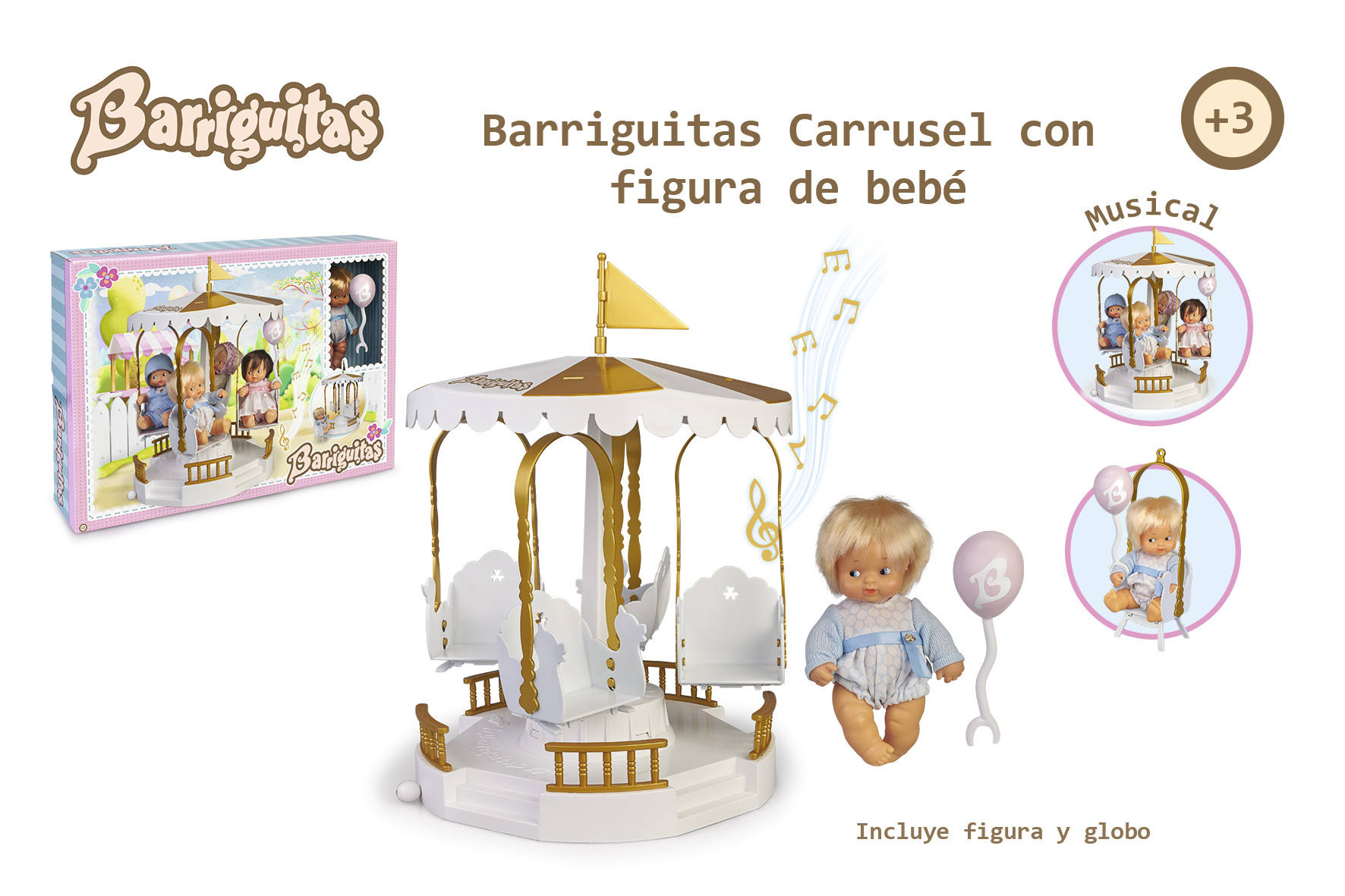 CARRUSEL MUSICAL BARRIGUITAS 15806 - N37720