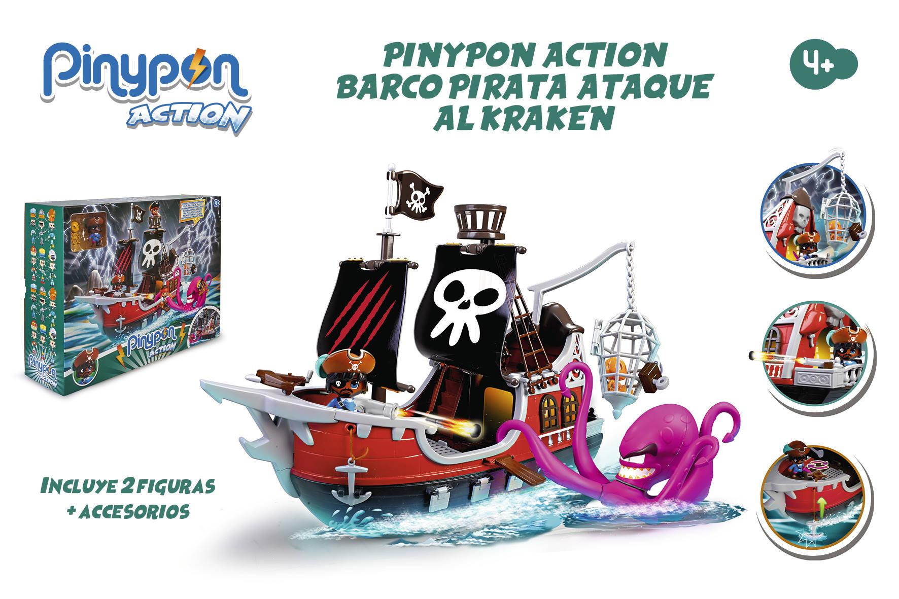 PINYPON ACTION BARCO PIRATA 15803