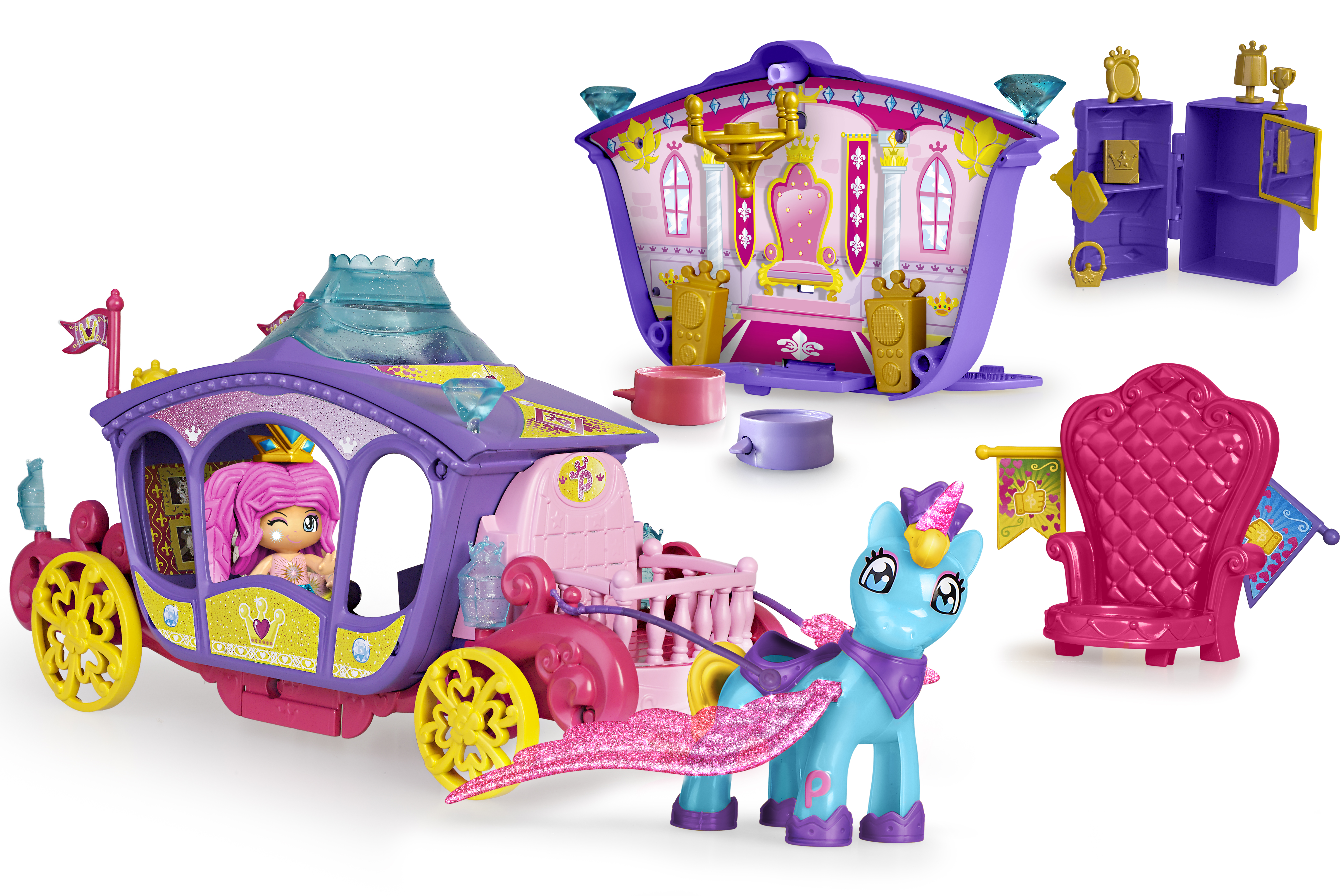 PINYPON QUEENS CARRIAGE 15805 - N38620