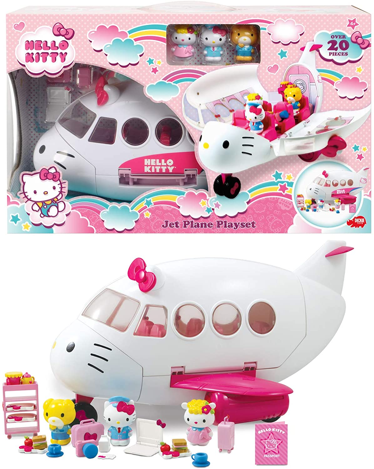 AVION CON FIGURAS HELLO KITTY 253248000 - N84620