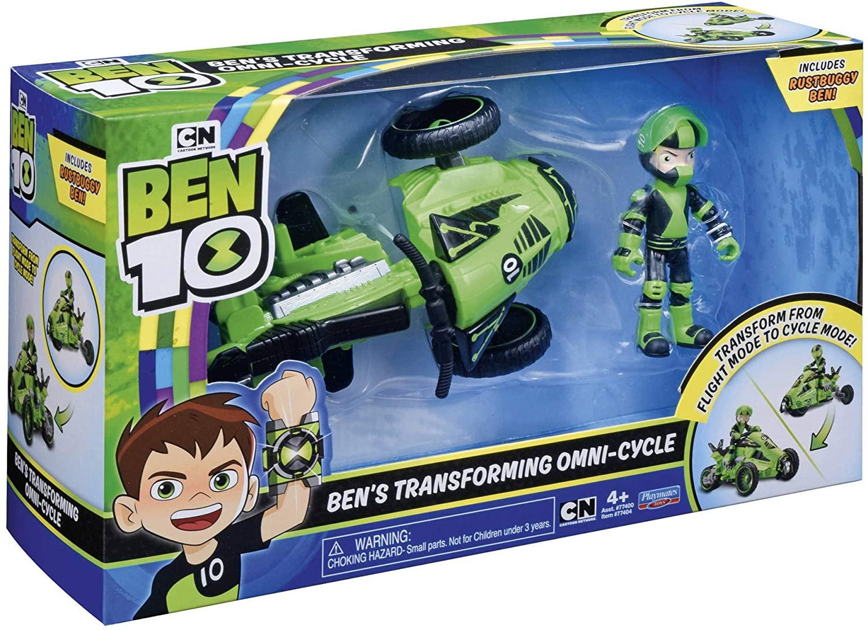 BEN 10 VEHICOLO + FIGURA BEN EXCLUSIVA BEN48000 - N43420
