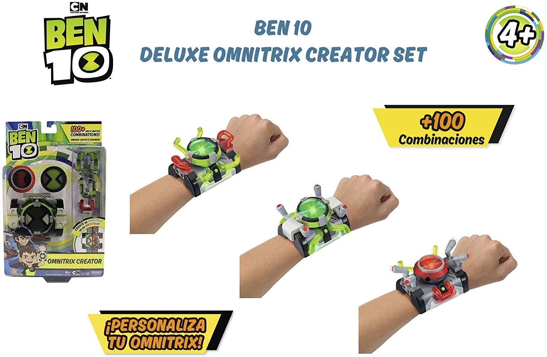 BEN 10 DELUXE OMNITRIX CREATOR SET BEN51111 - N43520