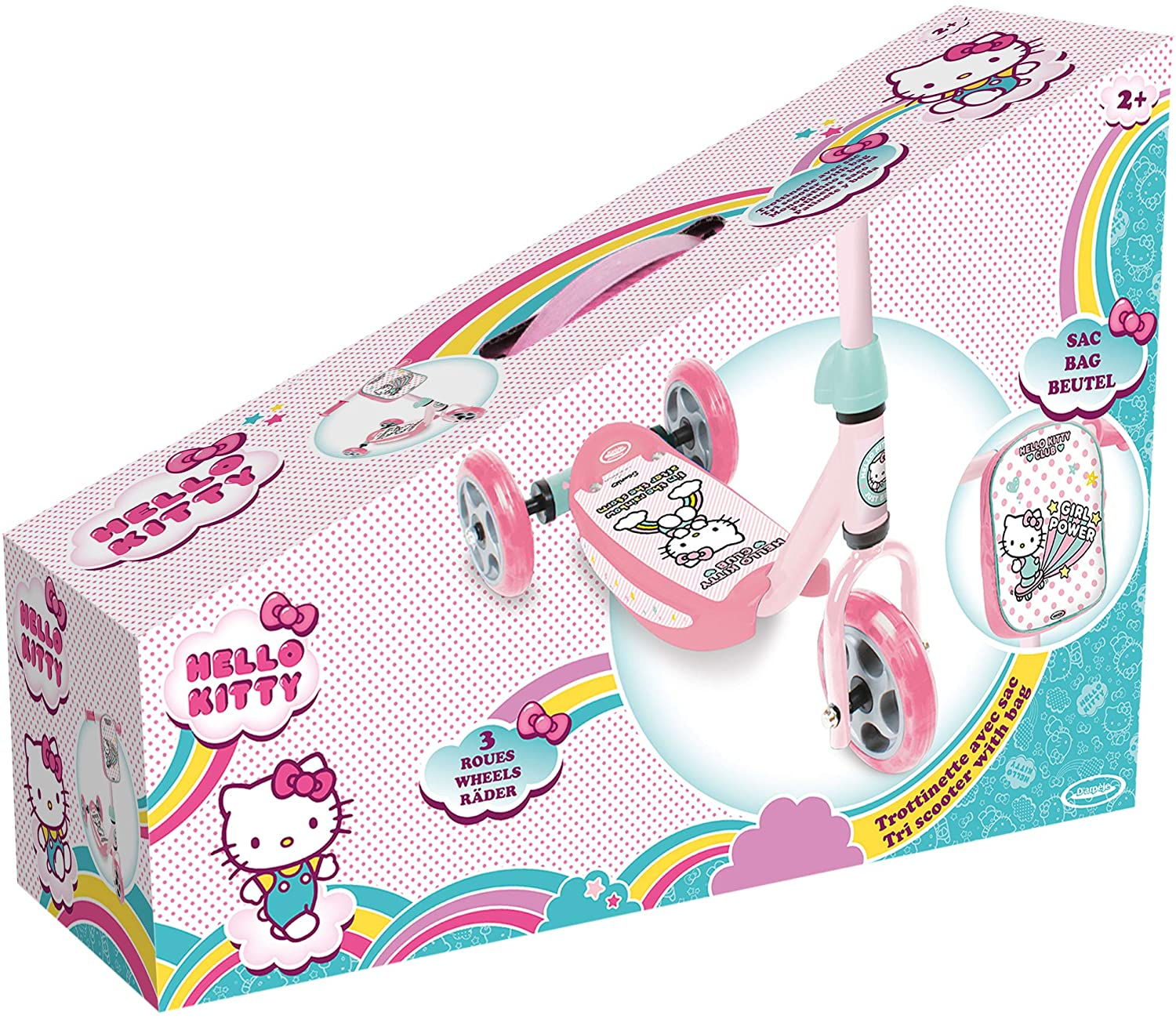 HELLO KITTY PATINETE 3 RUEDAS OHKY113-2 - N27420