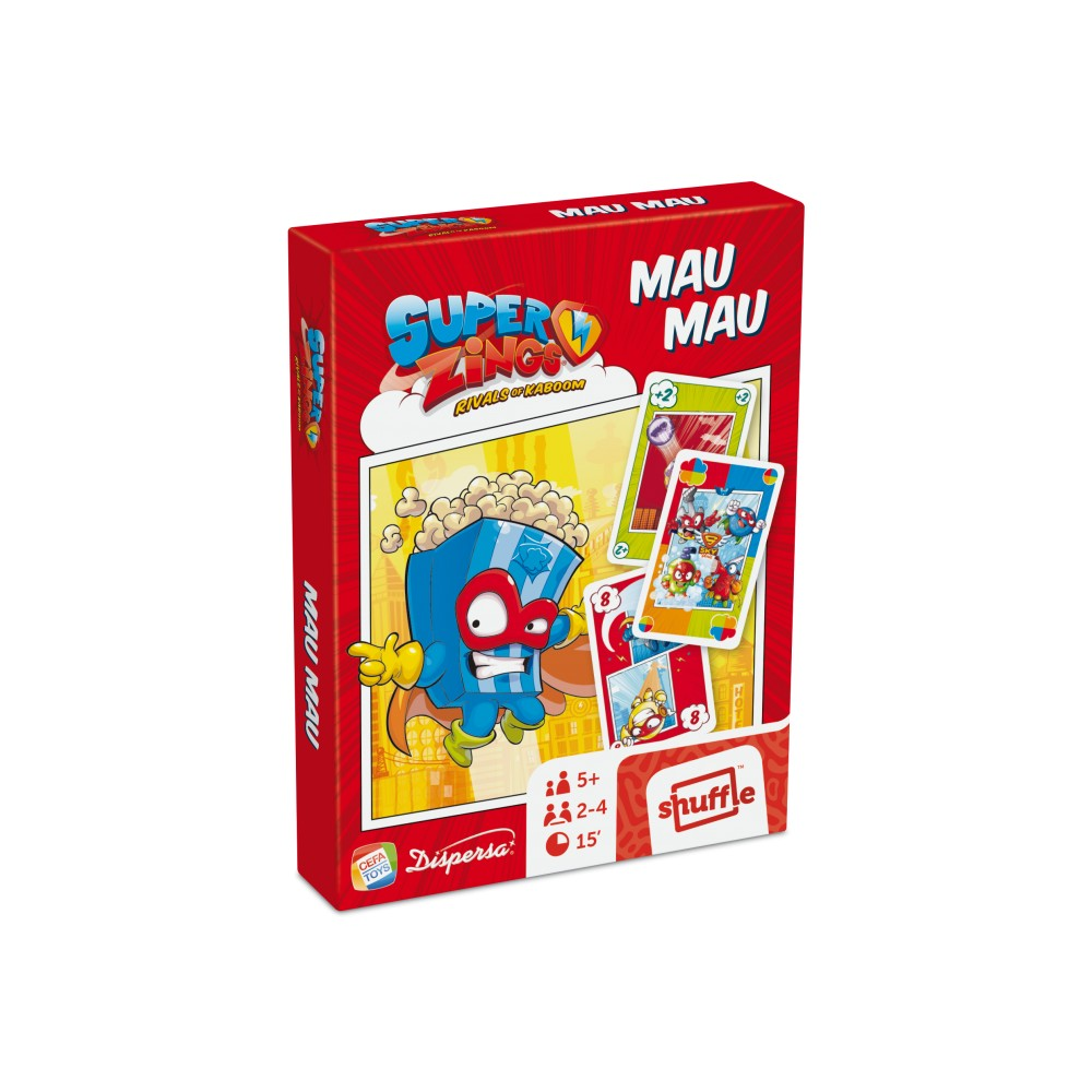 JUEGO DE MESA MAU MAU SUPERZINGS 00685