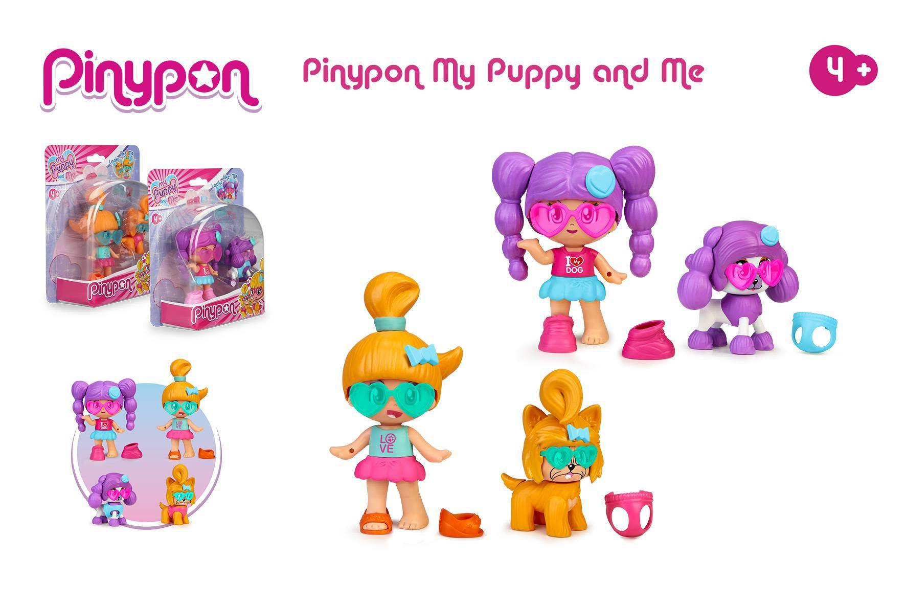PINYPON MY PUPPY AND ME 16243