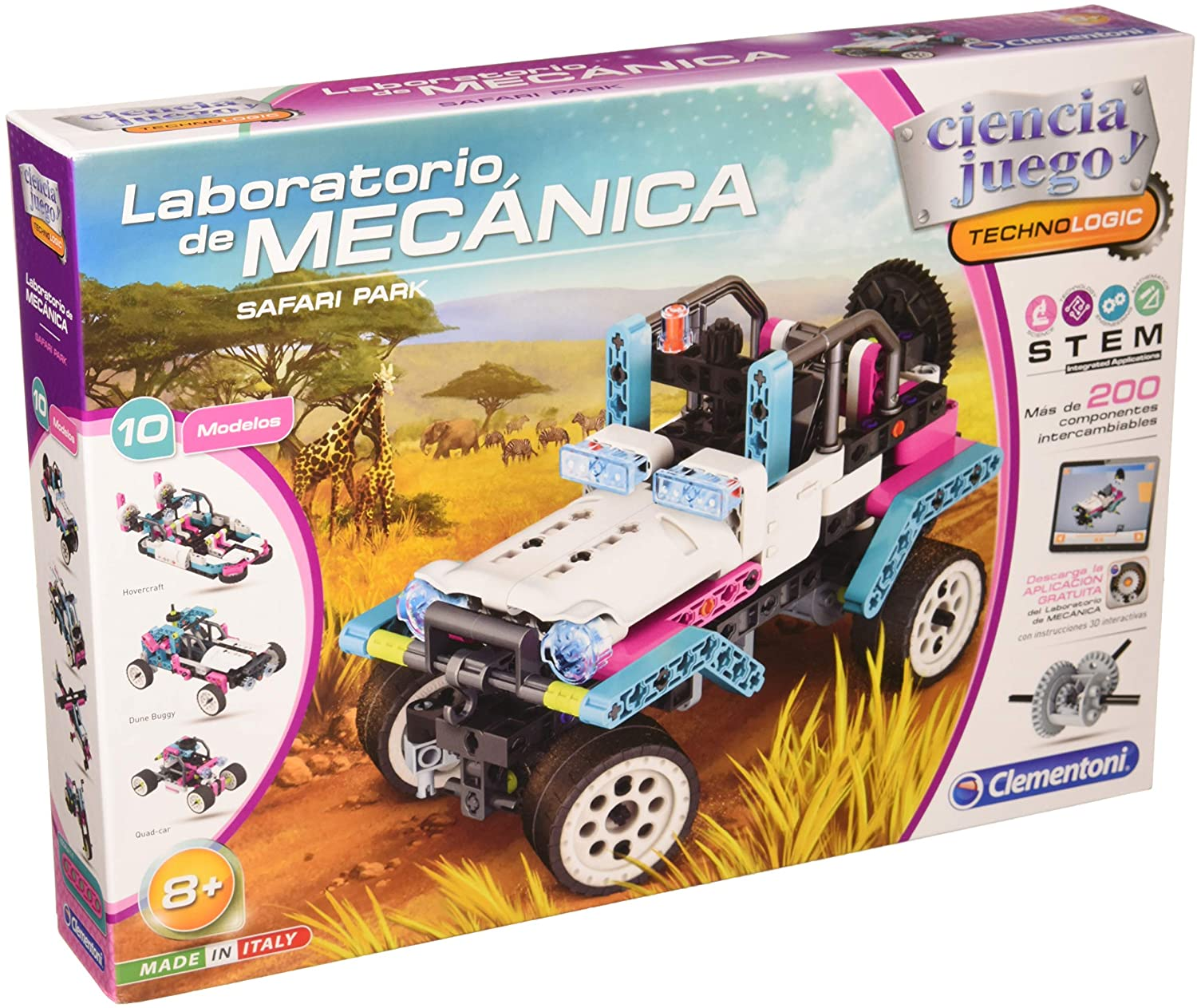 LAB MECANICA JEEP SAFARI 55332
