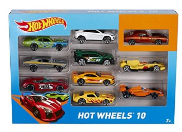 PACK 10 VEHICULOS HOT WHEELS 54886 - N70519