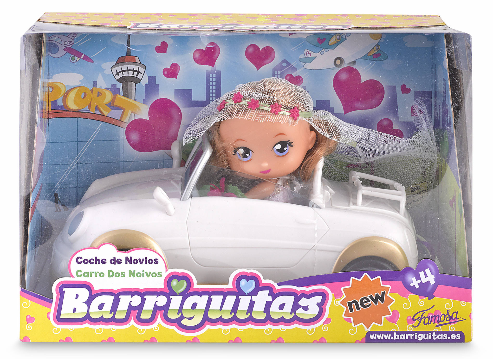 BARRIGUITAS COLOR CAR 12099
