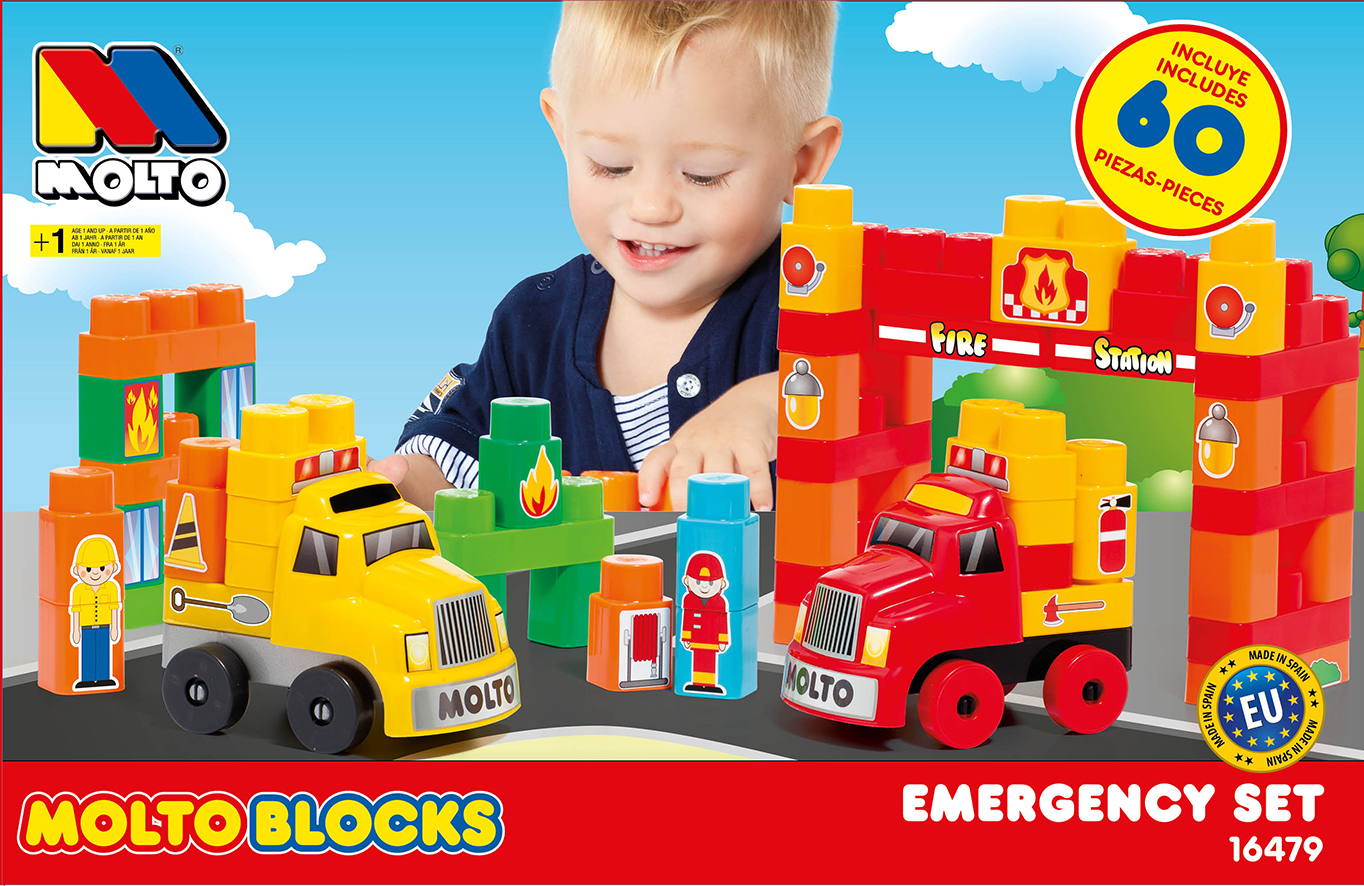MOLTO BLOCKS TRUCK CONSTRUCCION16479 - N40519