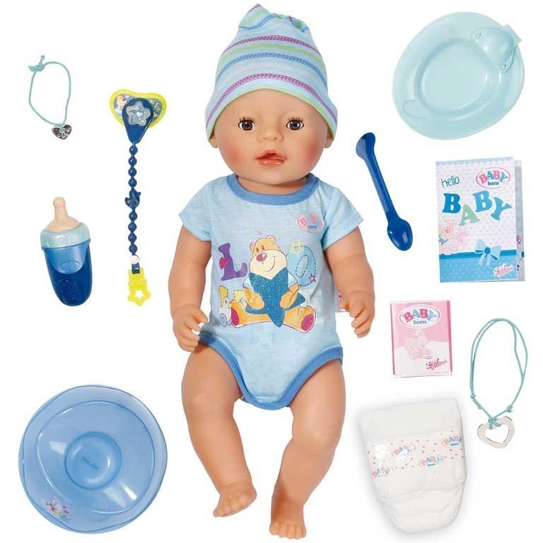 BABY BORN INTERACTIVO NIÑO 819203 - N14520